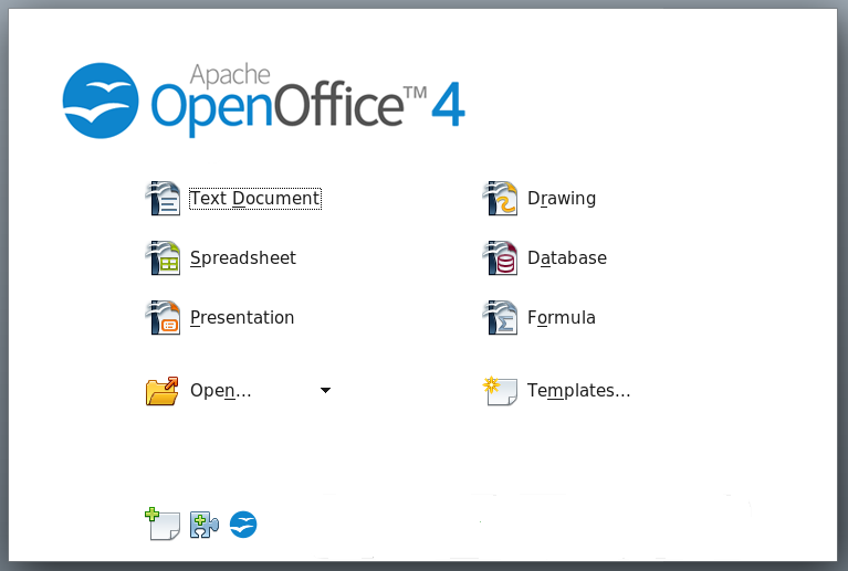 Apache OpenOffice (OpenOffice.org) picture