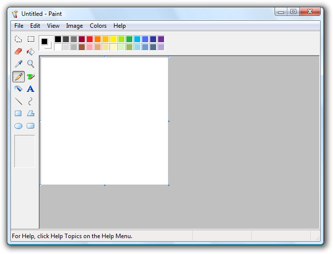 Microsoft Paint File Extensions