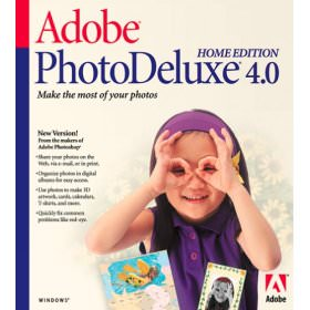 Adobe PhotoDeluxe picture or screenshot