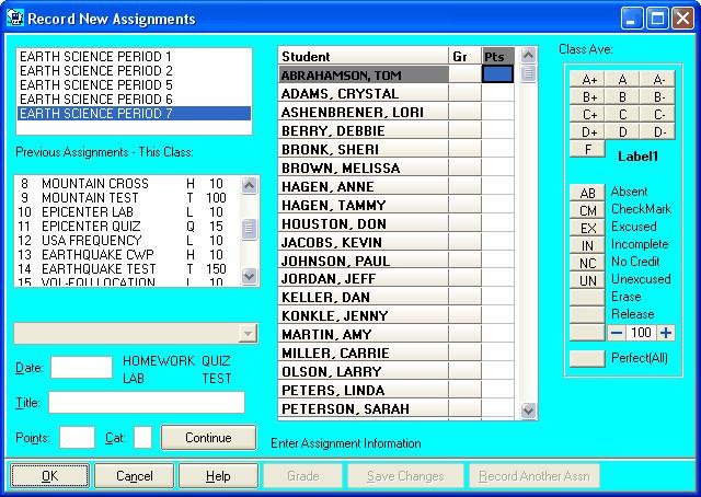 Gradebook Power picture or screenshot
