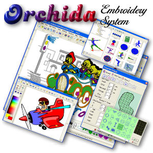 Orchida Embroidery System picture