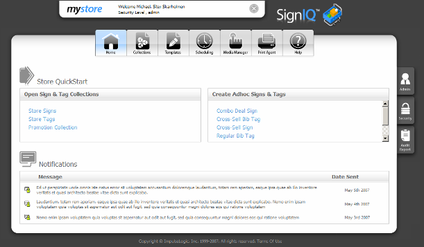 SignIQ Enterprise Edition picture or screenshot
