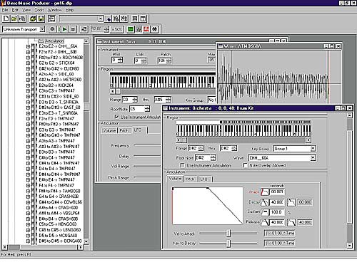 DirectMusic Producer picture or screenshot