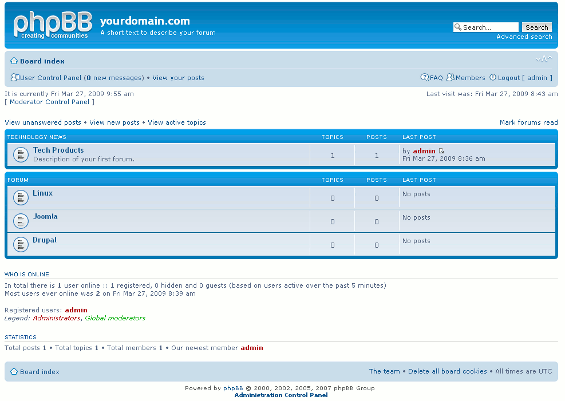 phpBB picture or screenshot