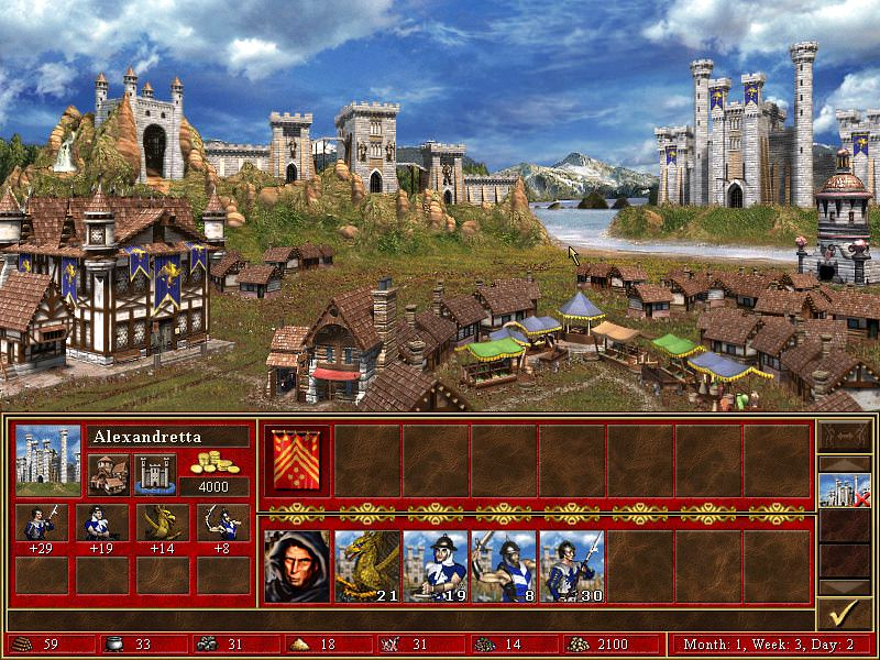 Heroes of Might & Magic III: The Restoration of Erathia picture