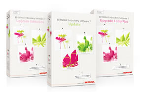 BERNINA embroidery software picture or screenshot