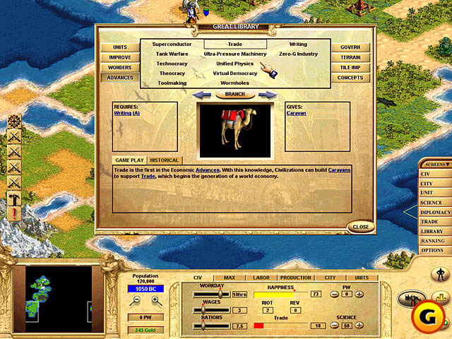 Civilization: Call to Power picture or screenshot
