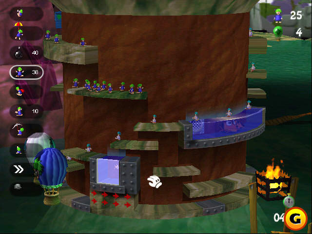 Lemmings Revolution picture or screenshot