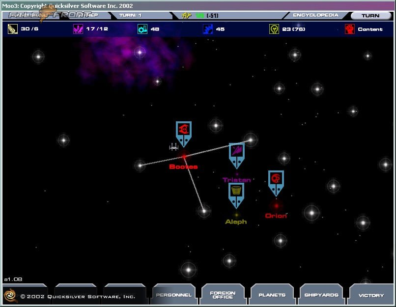 Master of Orion 3 picture or screenshot