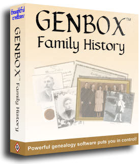 Genbox Family History picture or screenshot