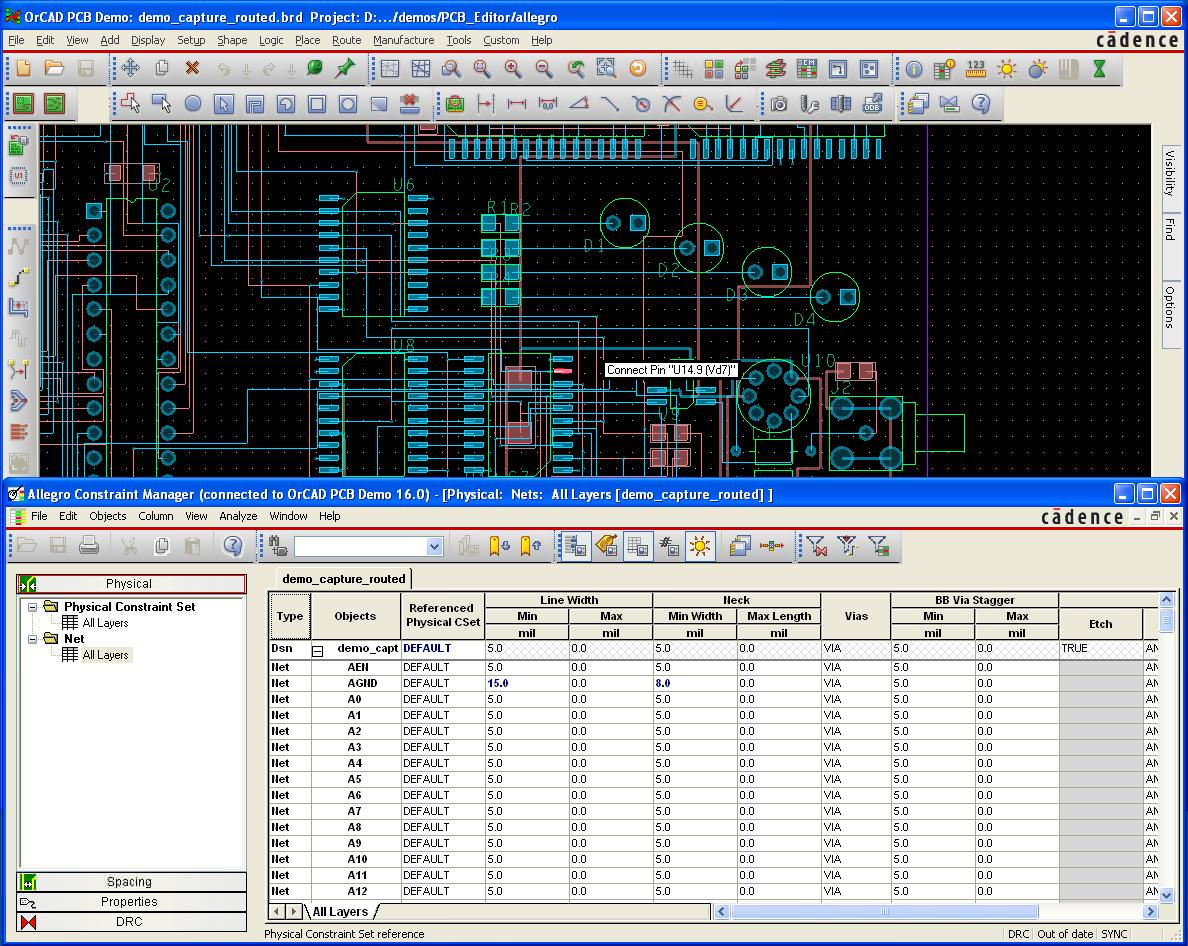 Pcb Printed Circuit Board Cad Computer Aided Design Software