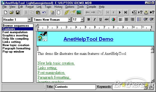 AnetHelpTool picture or screenshot