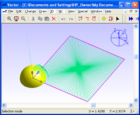 Vector CAD picture or screenshot