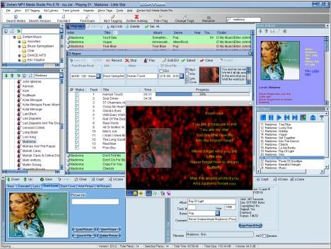 Zortam Mp3 Media Studio picture or screenshot