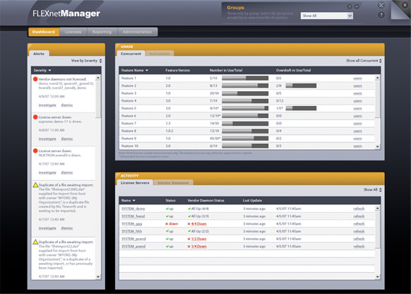 FLEXnet Manager picture or screenshot