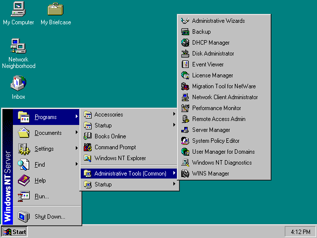 Microsoft Windows NT 4.0 picture