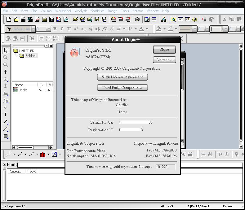 Origin Pro picture or screenshot