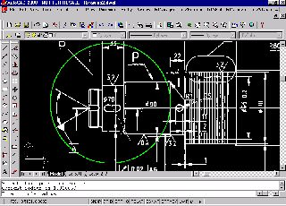 GTXRaster CAD picture or screenshot