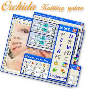 Orchida Knitting System picture