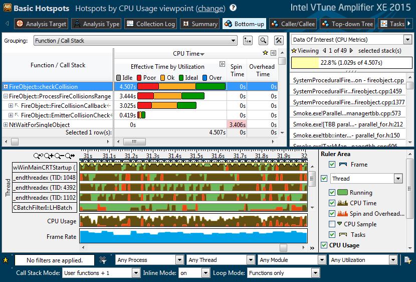 Intel VTune picture or screenshot