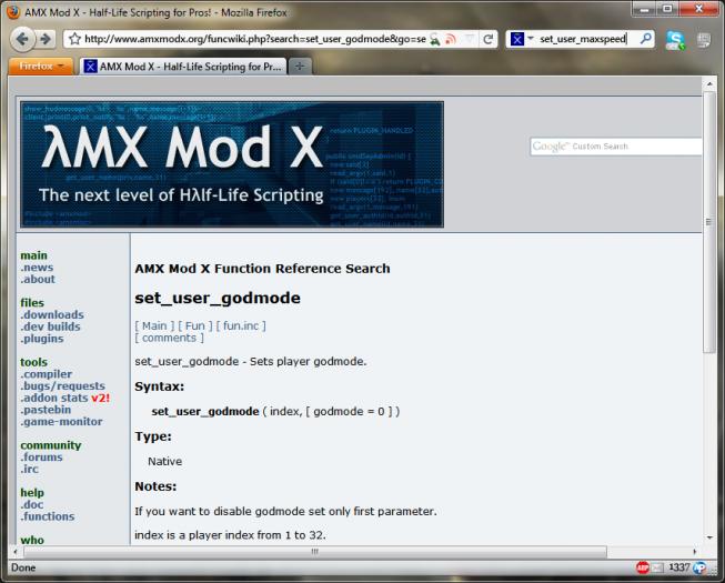 AMX Mod X picture or screenshot