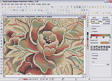Booria Carpet Designer picture or screenshot