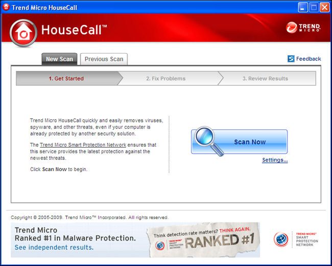 Trend Micro HouseCall picture