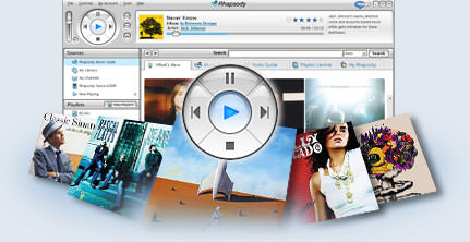 Napster (formerly Rhapsody) picture or screenshot