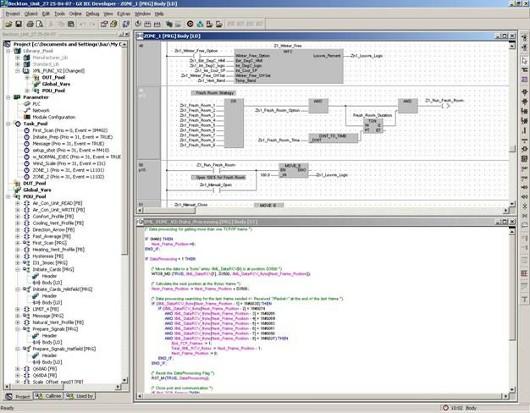 GX IEC Developer picture or screenshot