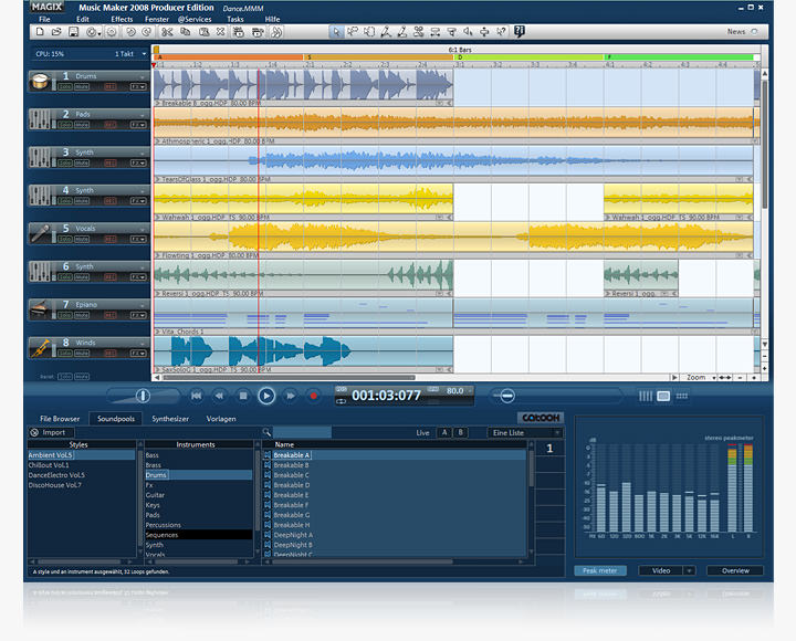 Magix Music Studio picture