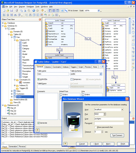 Database Designer for PostgreSQL picture or screenshot