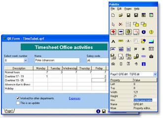 QR Designer picture or screenshot