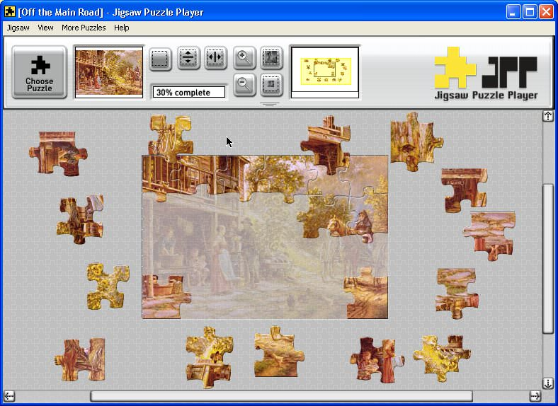 Jigsaw Puzzle picture or screenshot