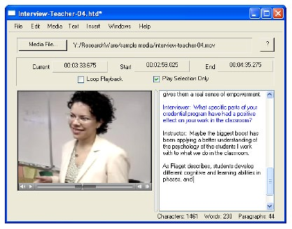 HyperTRANSCRIBE picture or screenshot