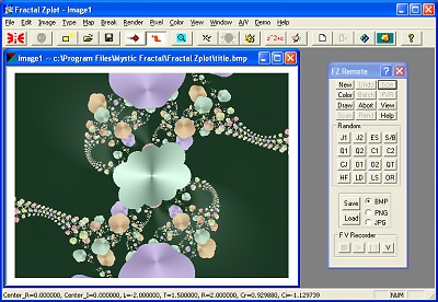 Fractal Zplot picture or screenshot