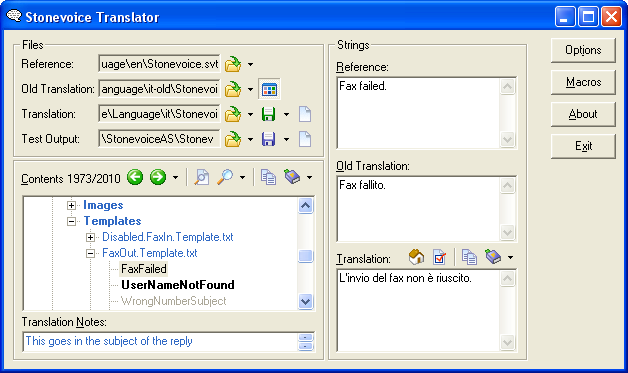 Stonevoice Translator picture or screenshot