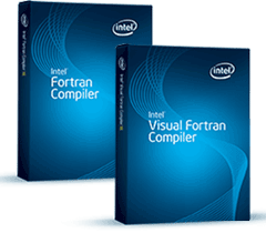 Intel Visual Fortran Compiler picture or screenshot