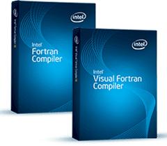 Intel Visual Fortran Compiler picture or screenshot