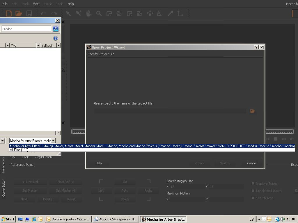 Adobe Mocha for Adobe After Effects picture or screenshot