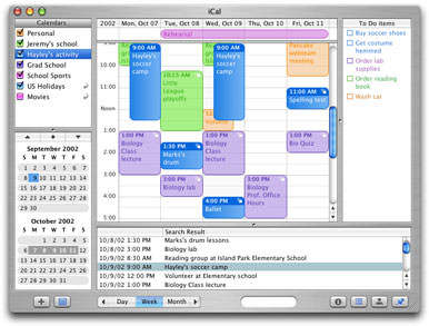 Apple Calendar (iCal) picture