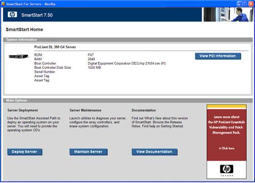 SmartStart picture or screenshot