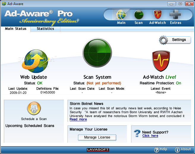 Ad-Aware PRO picture