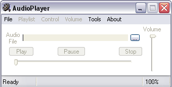 AudioPlayer picture or screenshot