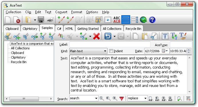 AceText picture or screenshot