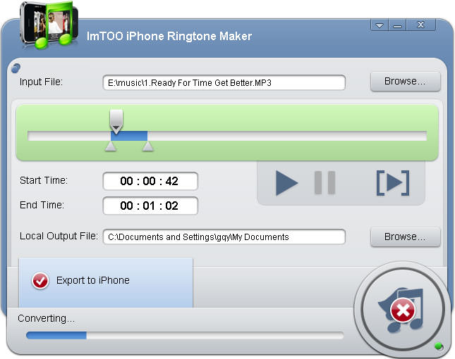 iphone ringtone file type imtoo iphone ringtone maker file extensions 15410