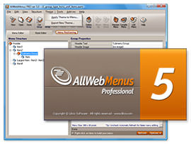 Likno AllWebMenus picture or screenshot