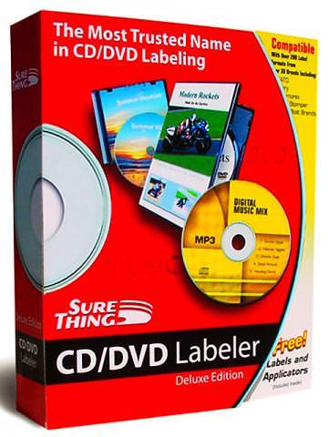 SureThing CD Labeler picture or screenshot