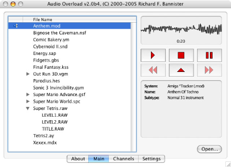 Audio Overload picture or screenshot