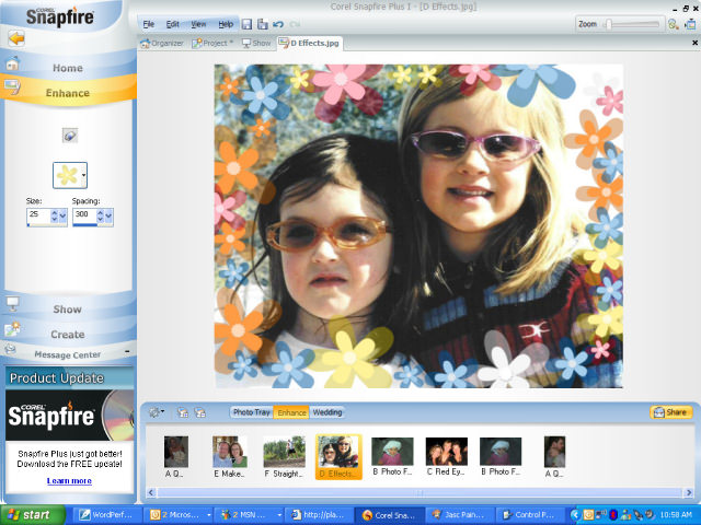 Corel Snapfire picture or screenshot