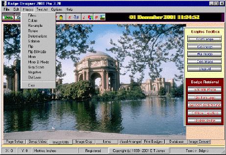Badge Designer 2000 picture or screenshot